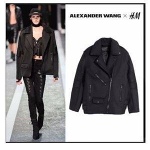 Alexander McQueen x H&M Wool Biker Jacket